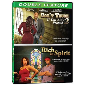 Rich in Spirit / Dont Touch If You Aint Prayed 2 [DVD] USA import