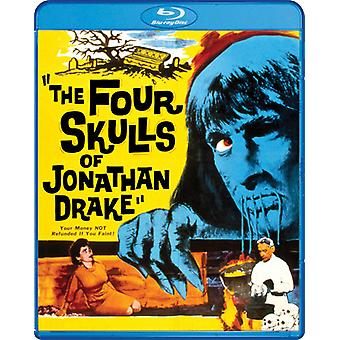 Four Skulls of Jonathan Drake [Blu-ray] USA import