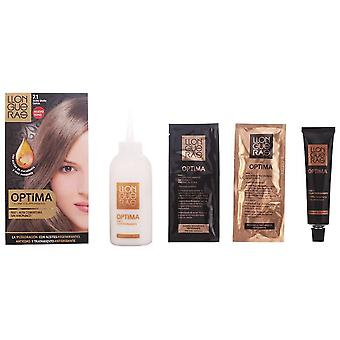 Llongueras Optima Hair Colour # 7.1-Medium Blond Cendre