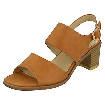 Ladies Anne Michelle Ankle Strap Casual Sandals F10528