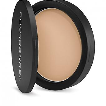 Young Blood Pressed Mineral Foundation Warm Beige 8g