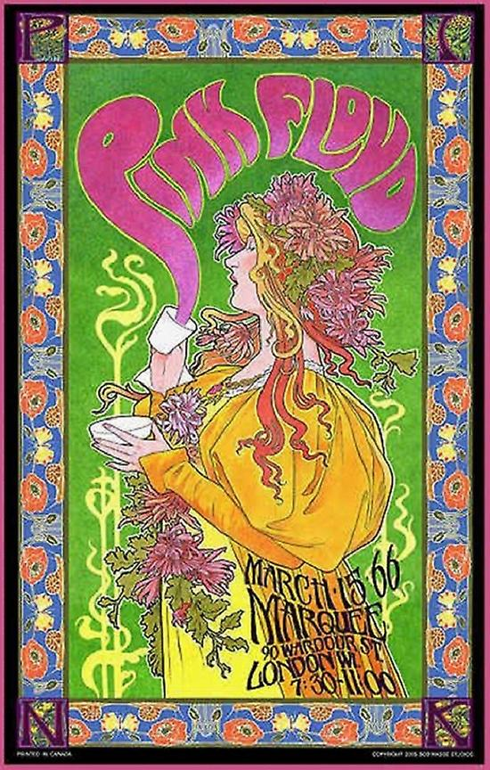 Pink Floyd - Concert Marquee Poster Poster Print