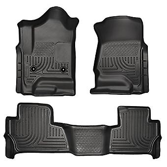 Husky Liners Front & 2nd Seat Floor Liners Fits 15-18 Tahoe/Yukon