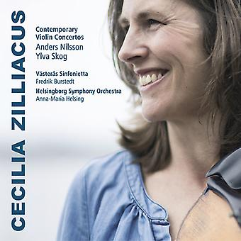 Nilsson / Skog / Zilliacus / Sinfonietta - moderne Violin koncerter [CD] USA import