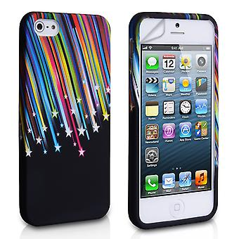 Yousave Accesorios Iphone 5 y 5s Shooting Star Gel caso