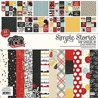 Simple Stories Single-Sided Paper Pad 12