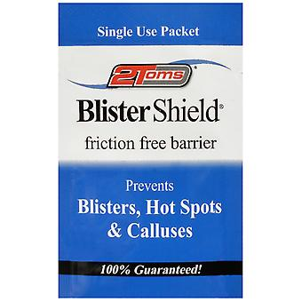 2Toms Single Use Blister Shield Friction Free Powder - 1 Packet