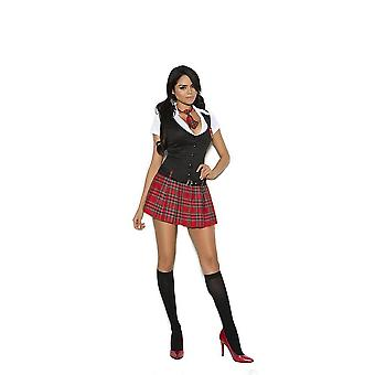 Elegant Moments EM-99064 Private ession choolgirl 2 pc costume