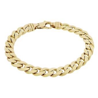 Christian geel gouden schakelarmband