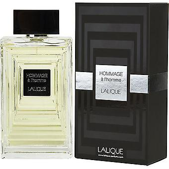 Lalique Hommage A L'Homme By Lalique Edt Spray 3.3 Oz
