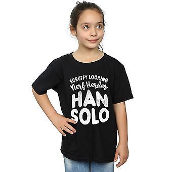Star Wars Girls Han Solo Legends Tribute T-Shirt