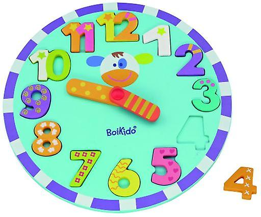 Boikido Puzzle Clock (Babies and Children , Toys , Educative And Creative)