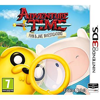 Adventure Time Finn and Jake Investigations (Nintendo 3DS)