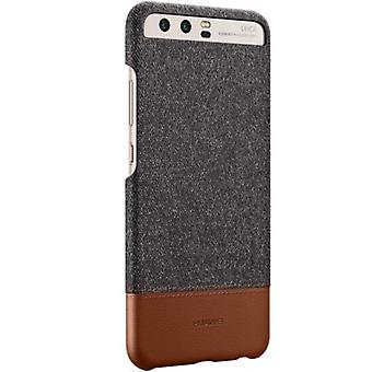 Huawei Huawei P10 mashup case cover sleeve cover fabric surface Brown