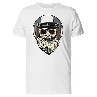 Bearded With Sunglasses Biker Tee Men's -Image by Shutterstock