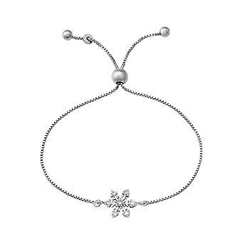Schneeflocke - 925 Sterling Silber Kette Armbänder - W37476X