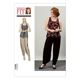 Misses' Top and Pants-All Sizes in One Envelope -*SEWING PATTERN*