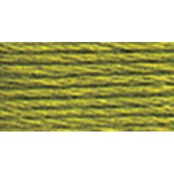 DMC 6-Strand Embroidery Cotton 8.7yd-Moss Green