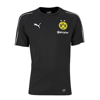 2018-2019 Borussia Dortmund Puma Training Shirt (zwart) - Kids