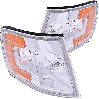 Anzo USA 521028 Honda Accord Clear Euro Clear With Amber Reflectors Corner Light Assembly - (Sold in Pairs)