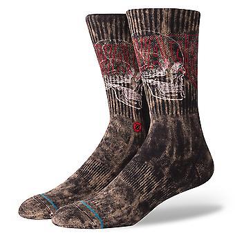 Holdning Savage kraniet sokker - sort