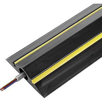 Vulcascot Cable bridge gomma nero No. di canali: 1 1500 mm contenuto: 1/PC