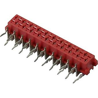 Connfly Pin enclosure - PCB Micro-MaTch Total number of pins 10 Contact spacing: 1.27 mm DS1015-04-10R6XB 1 pc(s)