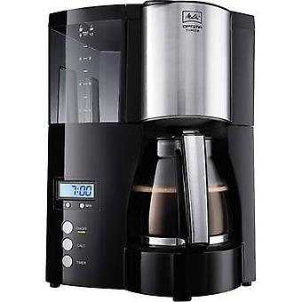 Coffee maker Melitta Optima Timer black Black 850 W Cup volume=12 Timer