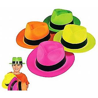 12 neon Gangster eller Safari luer | Kids Birthday Party hatter