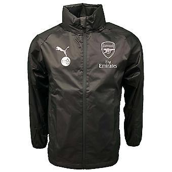2018-2019 arsenal Puma pioggia giacca (cancello del ferro)