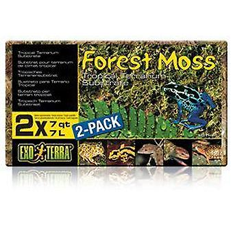 Exo Terra EXO TERRA NAUTRAL FOREST MOSS SUBSTRATE 14l (Reptiles , Beds and Hammocks)