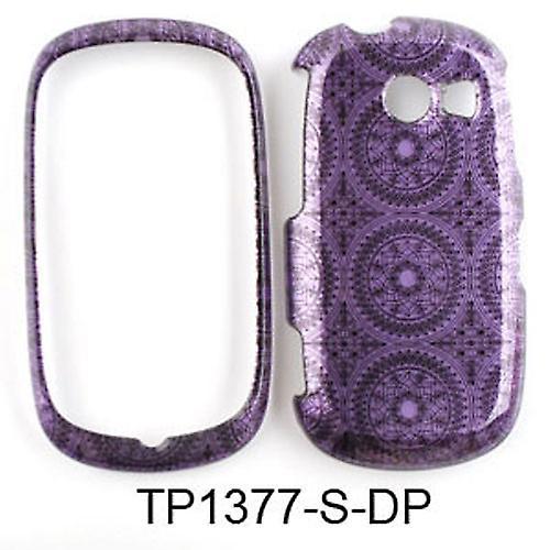 Unlimited Cellular Snap-On Case for Samsung Flight II A927 (Trans. Design, Dark