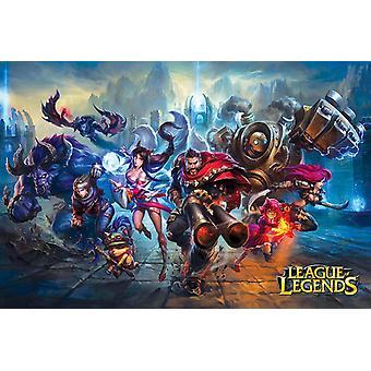 League Of Legends Gaming Poster afdrukken