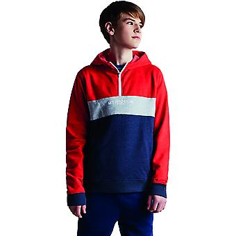 Dare 2b Boys Cuff Half Zip Polyester Soft Sweater Hoodie