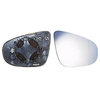 Right Mirror Glass (heated) & Holder for VW TOURAN 2009-2010