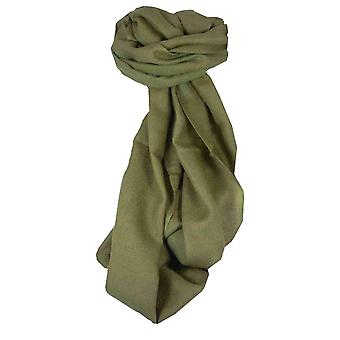 MENS Fine Cashmere Scarf Coffee by Pashmina & Silk
