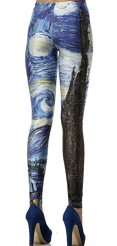 Waooh - Fashion - Legging ground relief painting