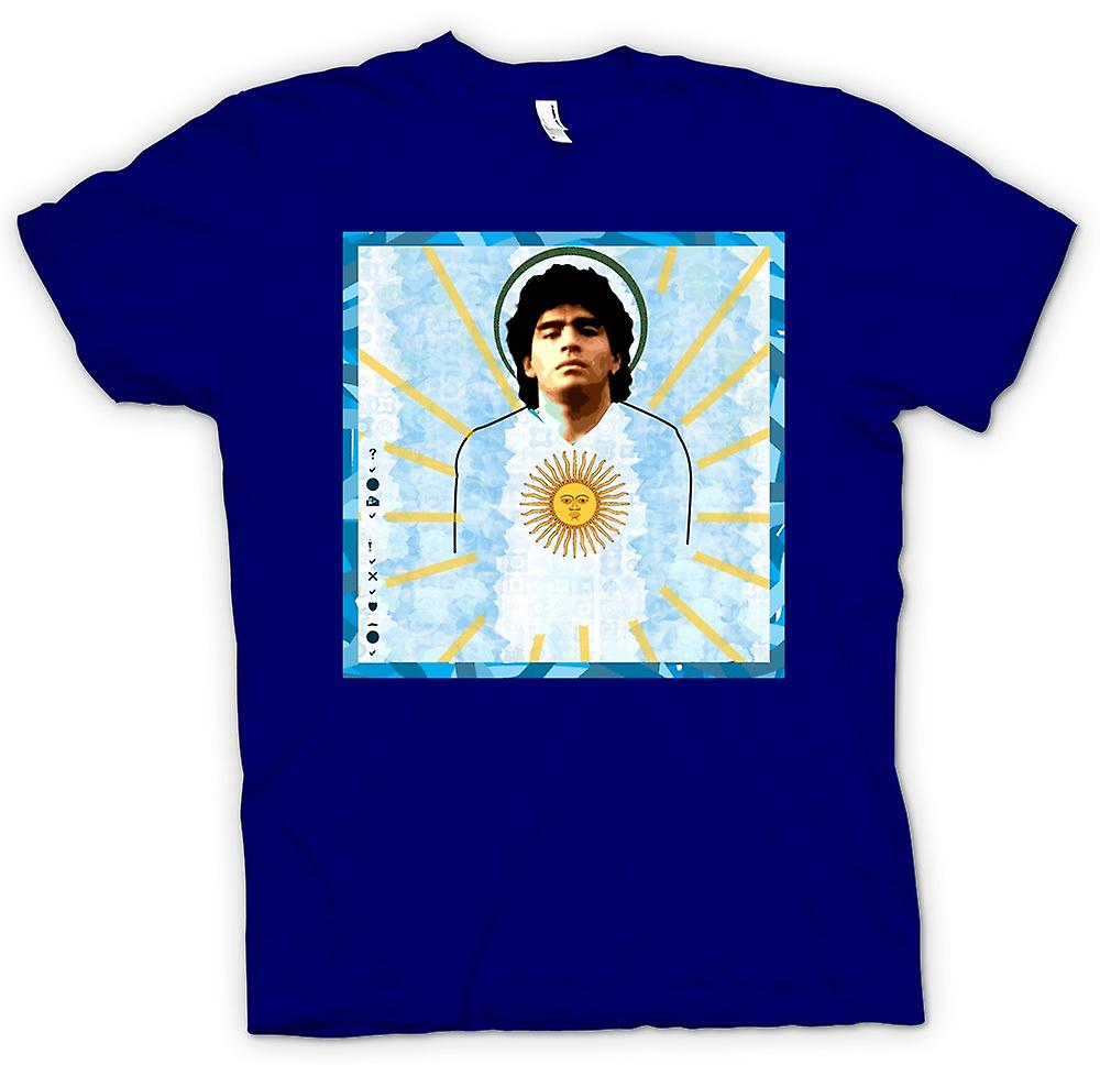 Mens T-shirt - Maradonna Argentina - Football