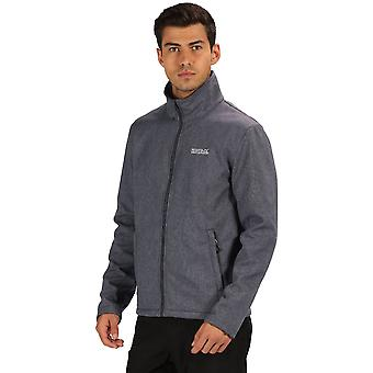 Regatta Mens Carby Water Repellent Softshell Zip Up Jacket