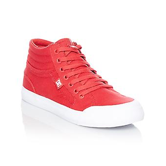 DC Evan Smith Red Signature Series TX Kids Hi Top Shoe