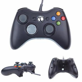 Wired controller for Windows and Xbox 360-Black