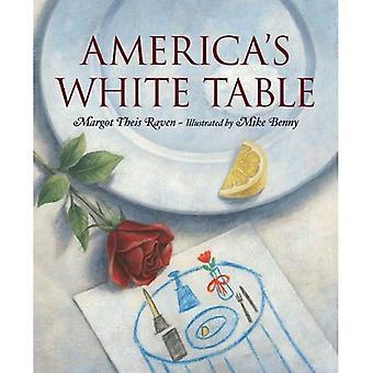 Table blanche de l'Amérique
