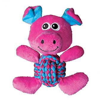 Kong Pig tejer nudos perro de juguete