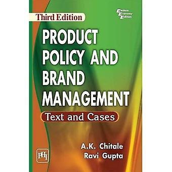 Politique de produit et marque gestion texte et cas