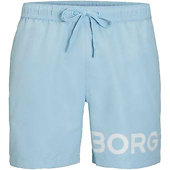 Bjorn Borg BORG Logo Swim Shorts, Dream Blue