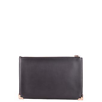 Alexander Wang schwarz Lederhandtasche