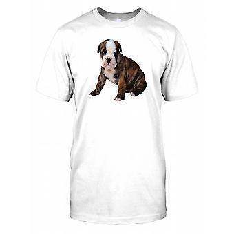 English Bulldog Puppy Dog Kids T Shirt