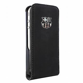 Schlanke schwarze Klappe Schild Metall Apple Case iPhone 4-FCB