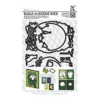 Xcut Shadow Box Die (9pcs) - Countryside (XCU 503273)
