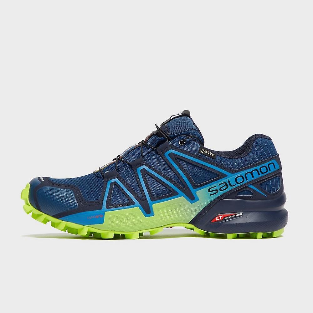 Nouveau Salomon hommes Speedcross 4 CS GTX Trail chaussures de course bleu